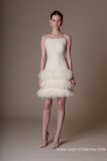 Короткі весільні сукні Marchesa