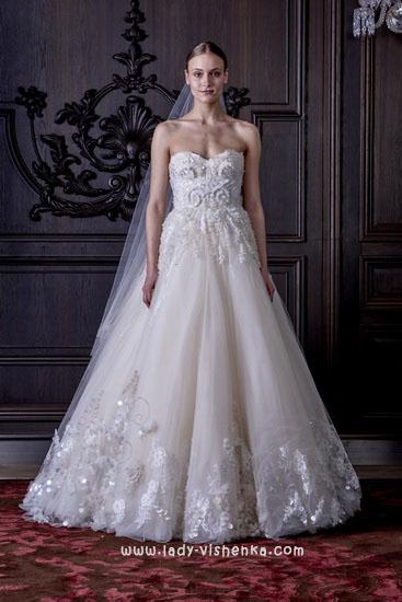 Красиві весільні сукні Монік Люлье