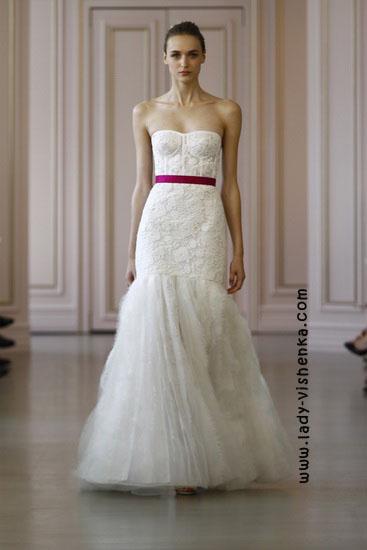 Модні весільні сукні 2016 фото Oscar De La Renta