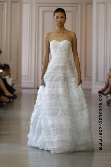 Весільні сукні 2016 фото Oscar De La Renta
