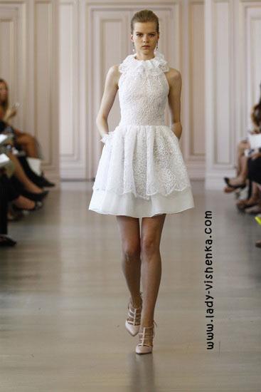 Маленьке весільна сукня Oscar De La Renta