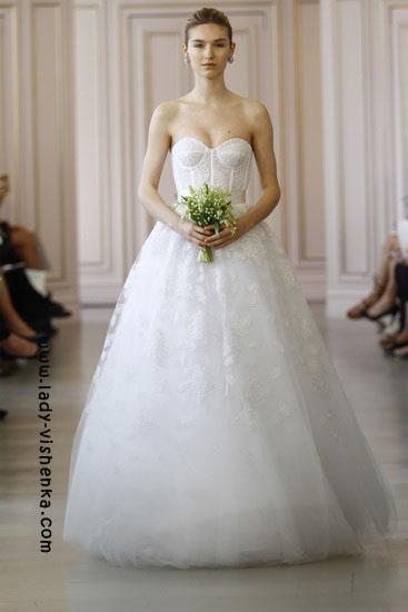 Стильні весільні сукні Oscar De La Renta