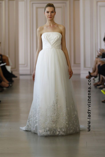 Модні весільні сукні Oscar De La Renta