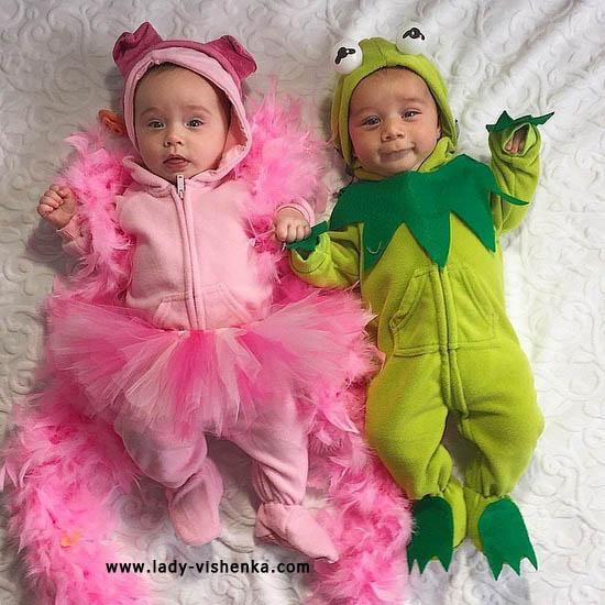 Костюми Принцеси і Жабеня для малюків