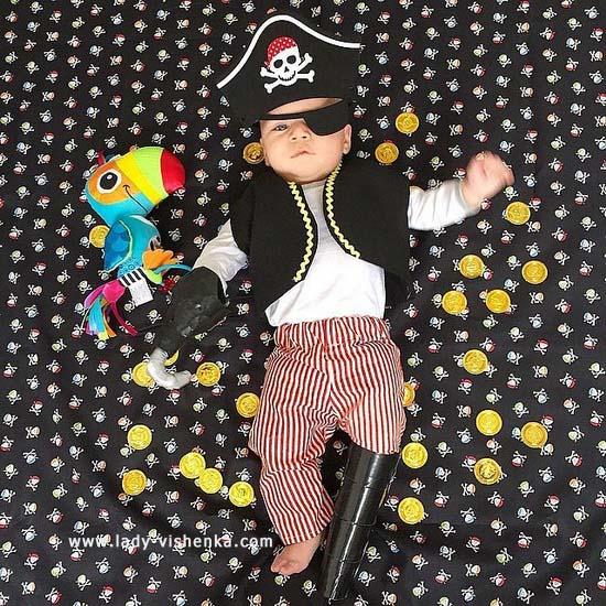 Костюм пірата для малюка
