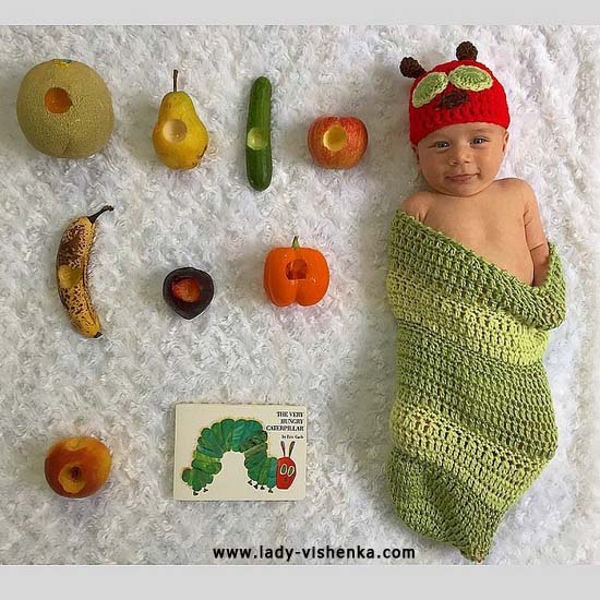 Костюм черв'яка для малюка