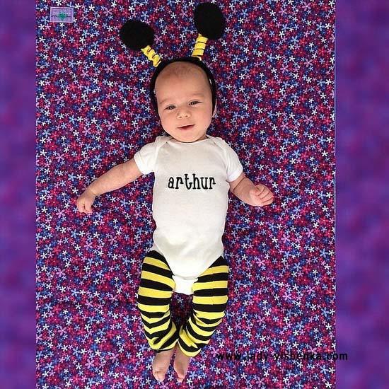 Костюм бджоли для малюка