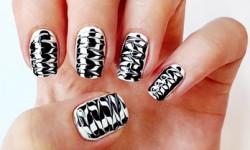 Незвичайні малюнки на нігтях