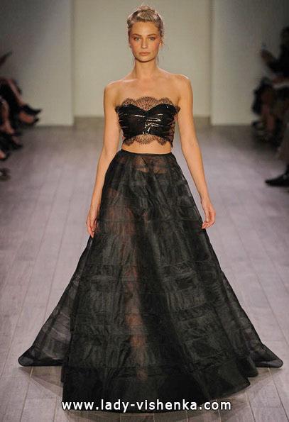 Весільну сукню чорного кольору 2016 - Hayley Paige