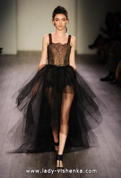 Чорне весільне плаття 2016 - Hayley Paige