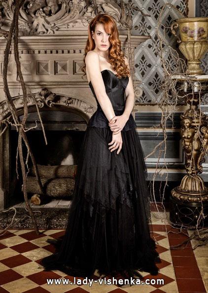 Весільну сукню чорного кольору - Jordi Dalmau