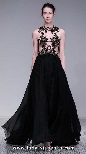 Чорне весільне плаття 2016 - Kaviar Gauche