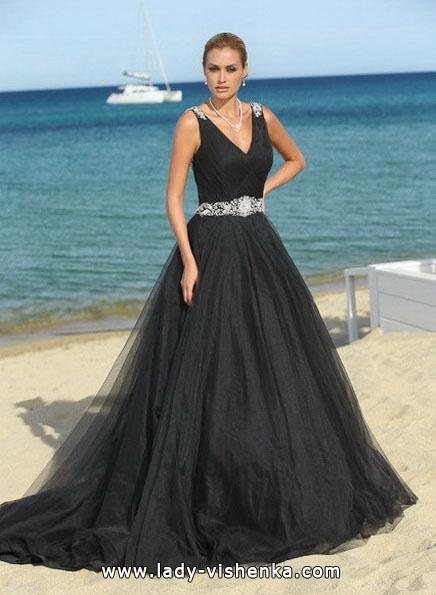 Чорне весільне плаття 2016 - Lady Bird
