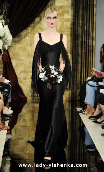 Чорне весільне плаття 2016 - Theia