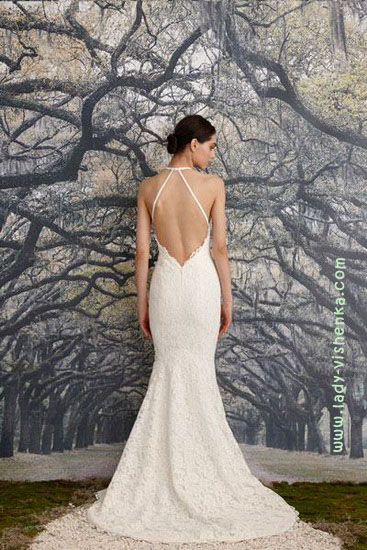Довгі весільні сукні Nicole Miller