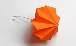 Ялинкові іграшки з паперу