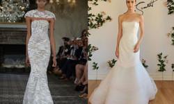 Весільна сукня рибка, русалка