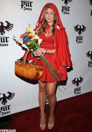 Lo Bosworth в костюмі Червоної Шапочки на Хеллоуїн
