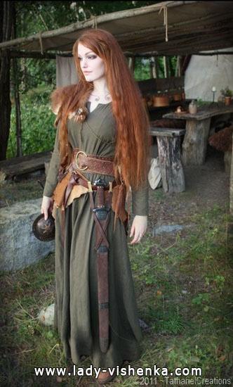 Меріда - образ для дівчини на Хеллоуїн