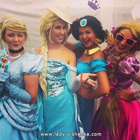 Сукні на Хеллоуїн - Принцеси