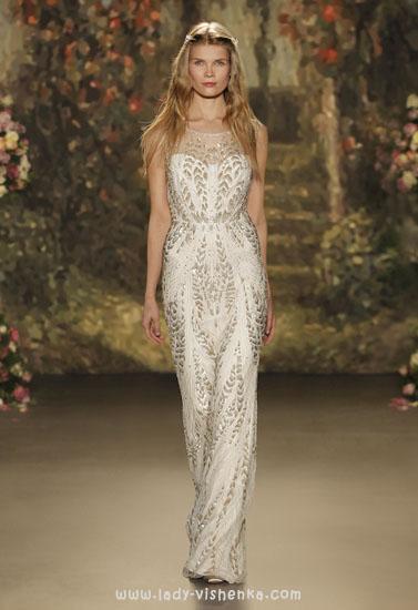 Прямі весільні сукні
