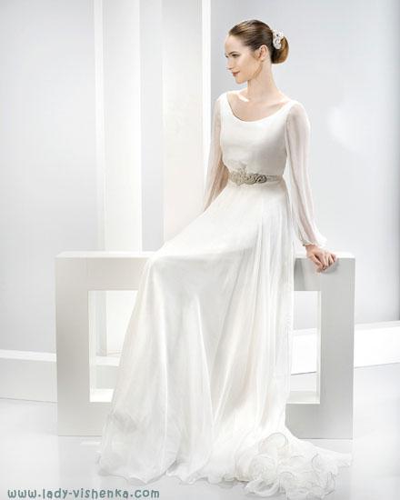 Довгі весільні сукні Jesus Peiro