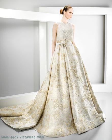 Айворі - весільну сукню Jesus Peiro