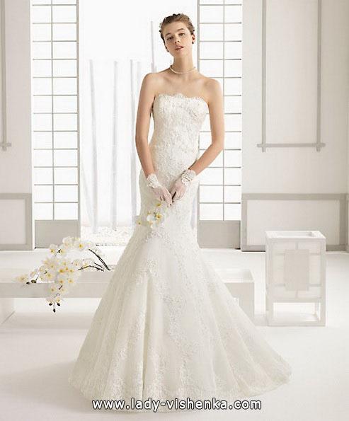 Мереживна весільна сукня - рибка - Aire Barcelona