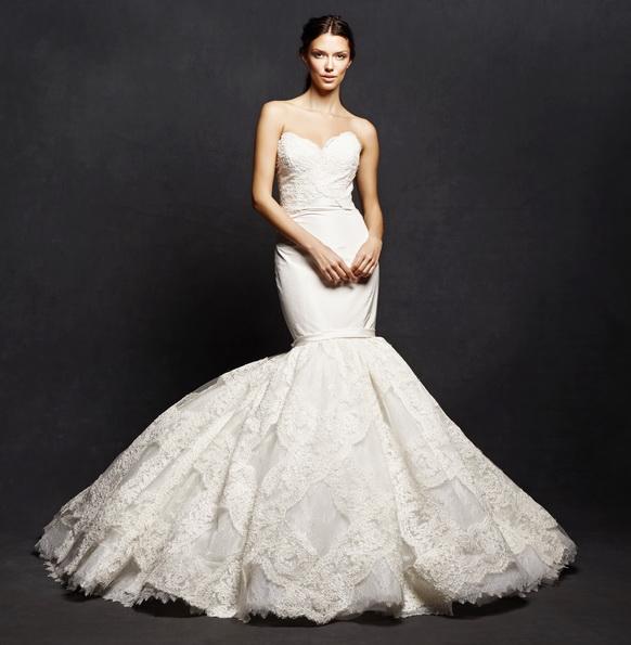 Мереживна весільна сукня - рибка - Isabelle Armstrong