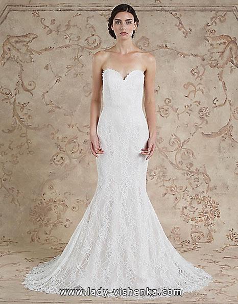 Мереживна весільна сукня - рибка - Sareh Nouri