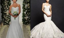 Мереживна весільна сукня - рибка 2016