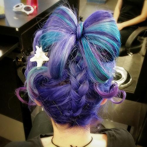 Колір волосся аніме
