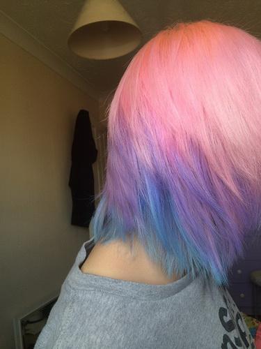 М'який колір волосся в стилі Пастель