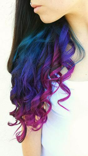 Колір волосся - гра кольорів