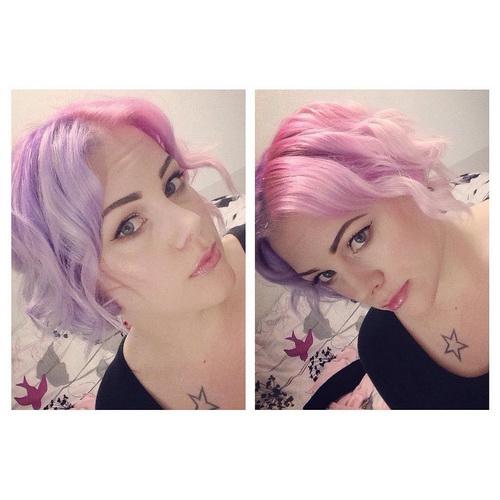 Колір волосся - єдинороги заздрять
