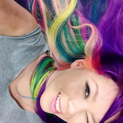 Оригінальний колір волосся - палітра фарб