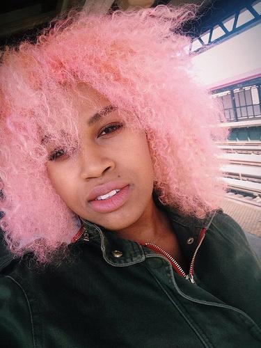 Оригінальний колір волосся - цукрова вата