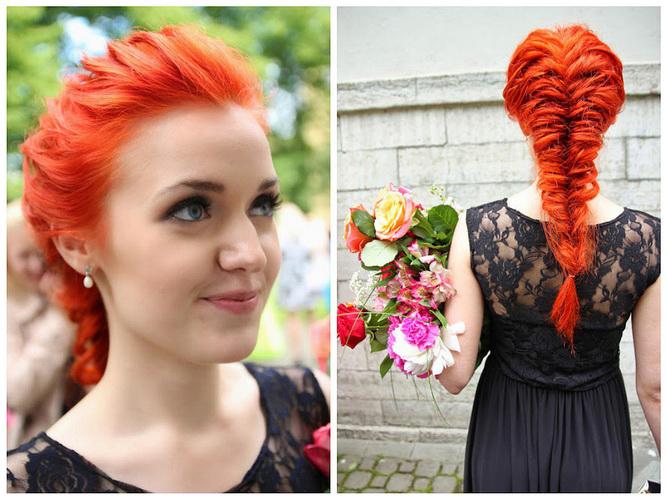 Червоно-рудий колір волосся