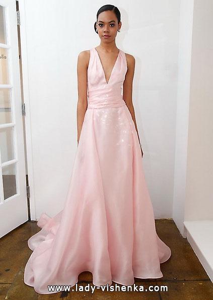 Рожеве весільне плаття 2016 - Pamella Roland