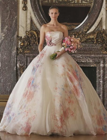 Весільна сукня рожевого кольору - Romona Keveza