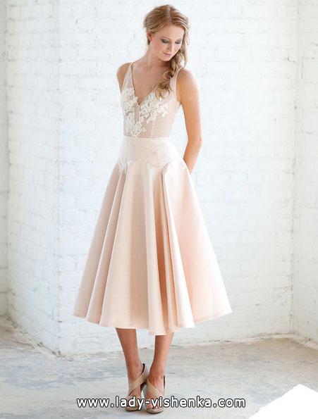 Рожеве весільне плаття 2016 - Tara LaTour