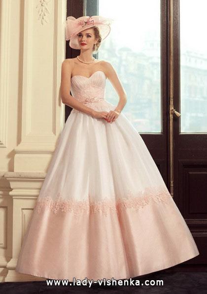 Рожеве весільне плаття - Tatiana Kaplun