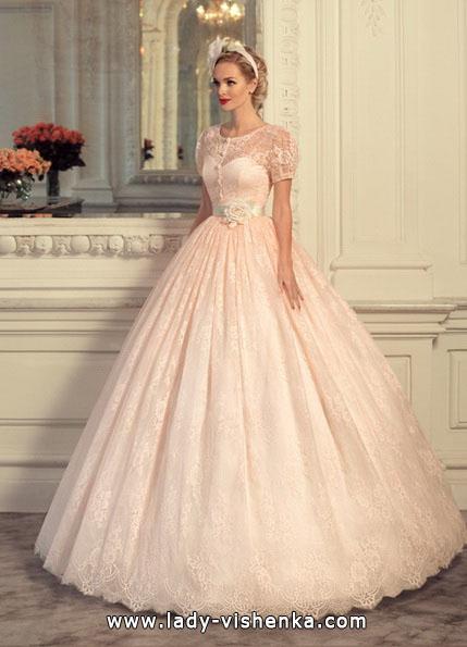 Рожеве весільне плаття 2016 - Tatiana Kaplun