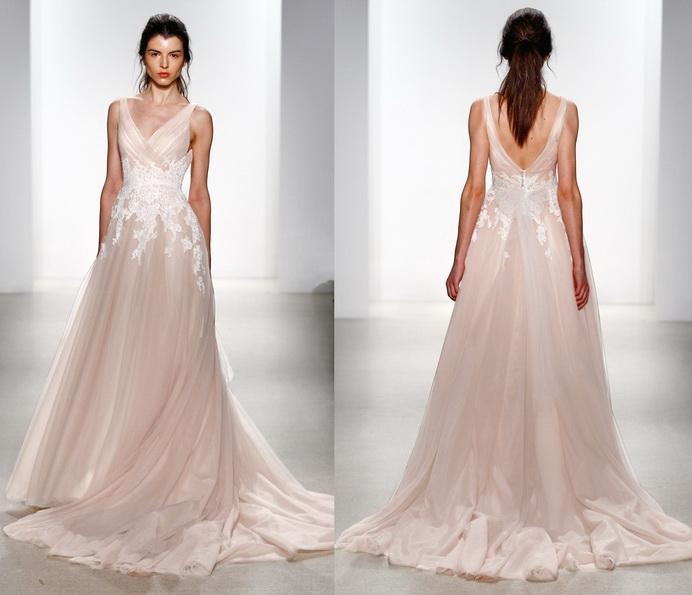 Рожеве весільне плаття 2016 - Kelly Faetanini