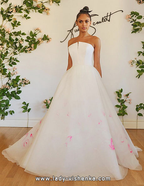 Рожеве весільне плаття 2016 - Austin Scarlett