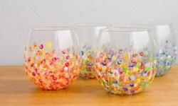 Подарунок своїми руками - витончені склянки