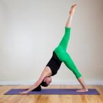 Пози йоги — Триногий собака