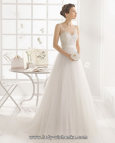 Весільне плаття принцеса фото - Aire Barcelona