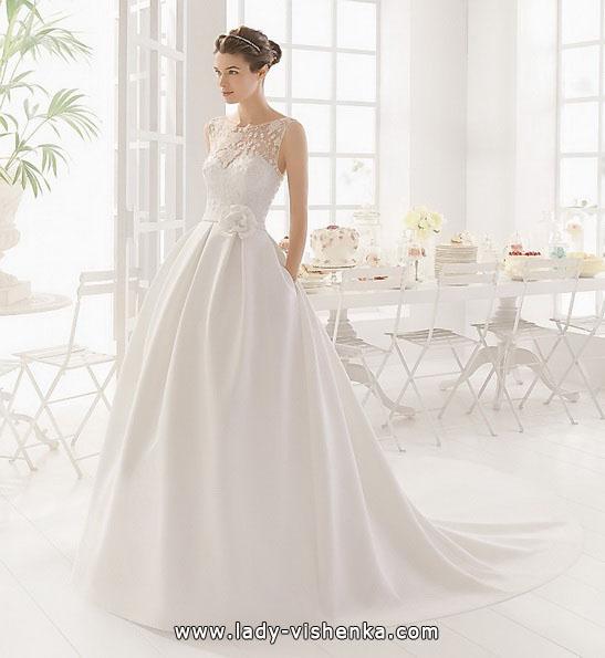 Атласна весільна сукня принцеси - Aire Barcelona
