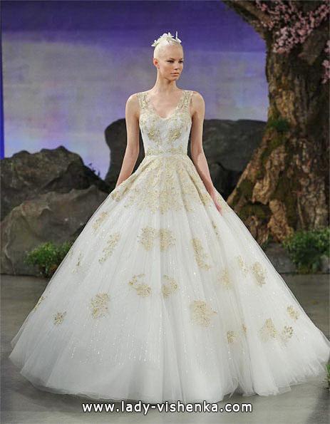 Весільне плаття принцеса фото - Ines Di Santo